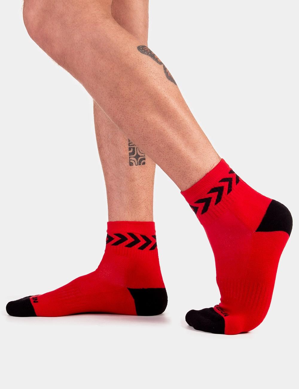 Petty Socks Ss20 - Red-Black