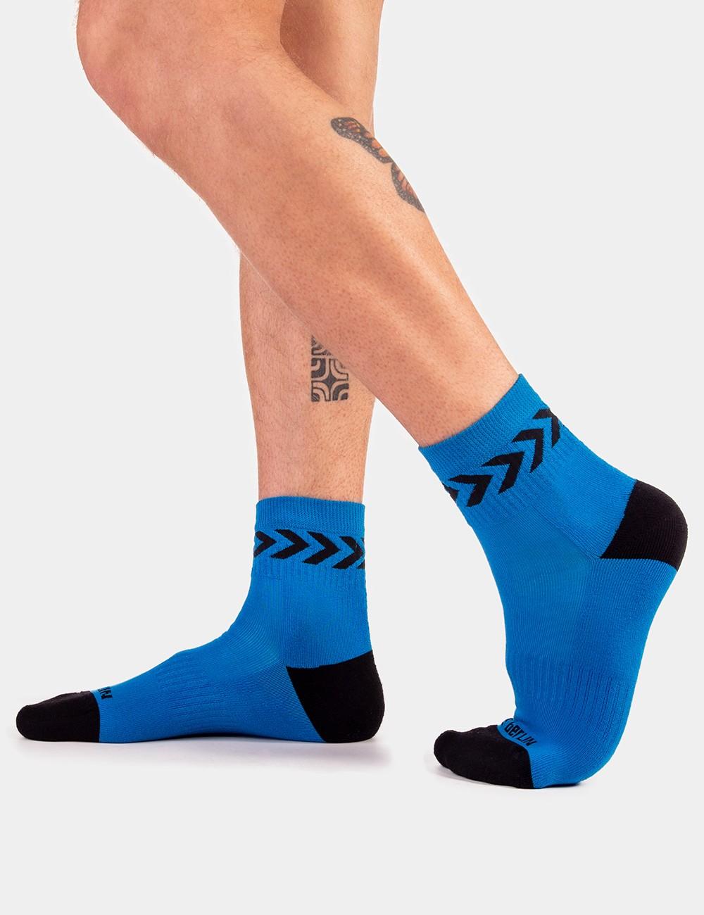 Petty Socks Ss20 - Blue-Black