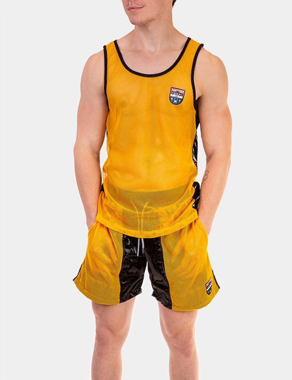 Tank Top Carlos - Yellow-Black