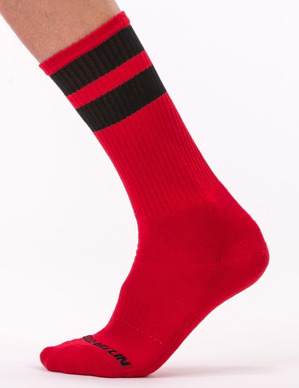 Gym Socks - Red-Black