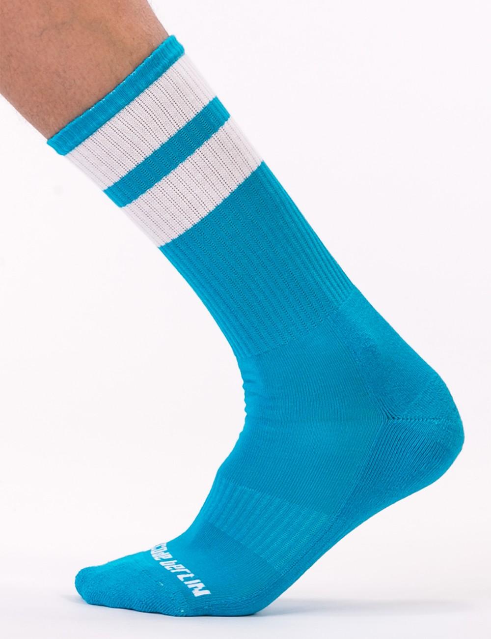 Gym Socks - Blue-White
